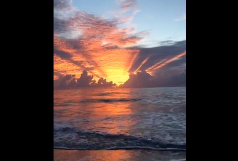 Sunset Vero Beach Florida